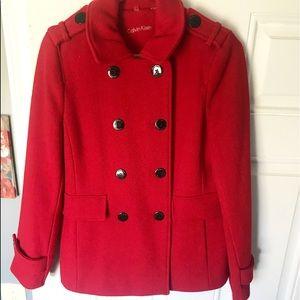 CALVIN KLEIN wool coat!